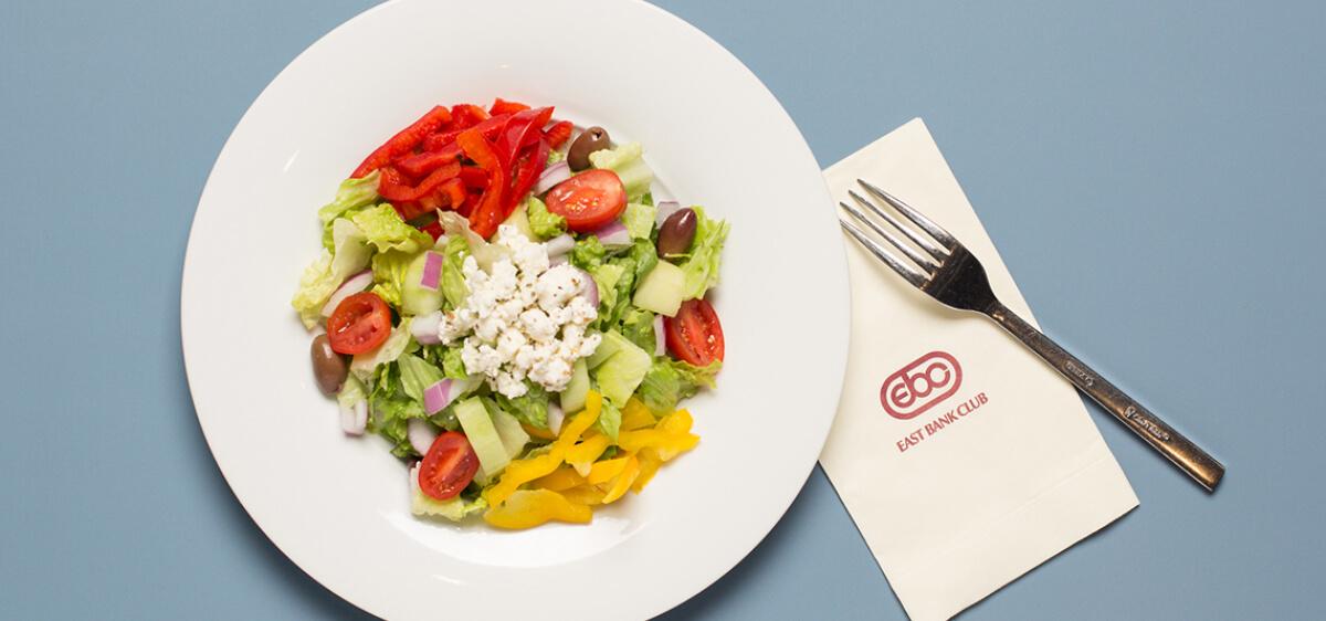 East Bank Club Food Shop Greek Salad