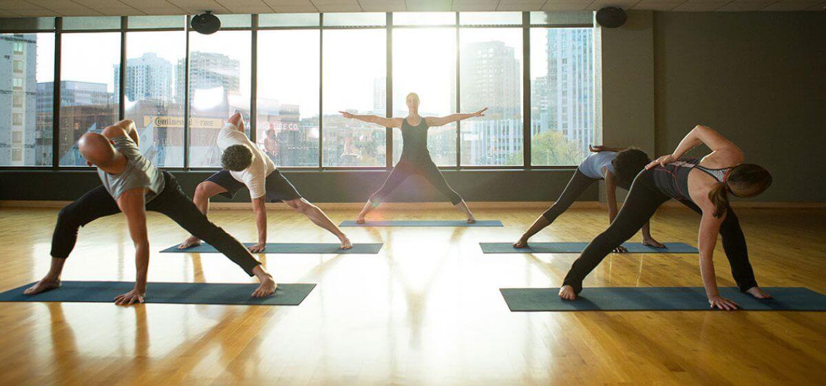 Yoga at East Bank Club
