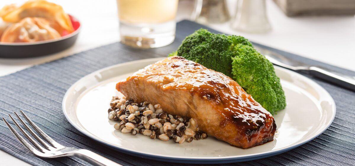 East Bank Club Food Shop Japanese Salmon