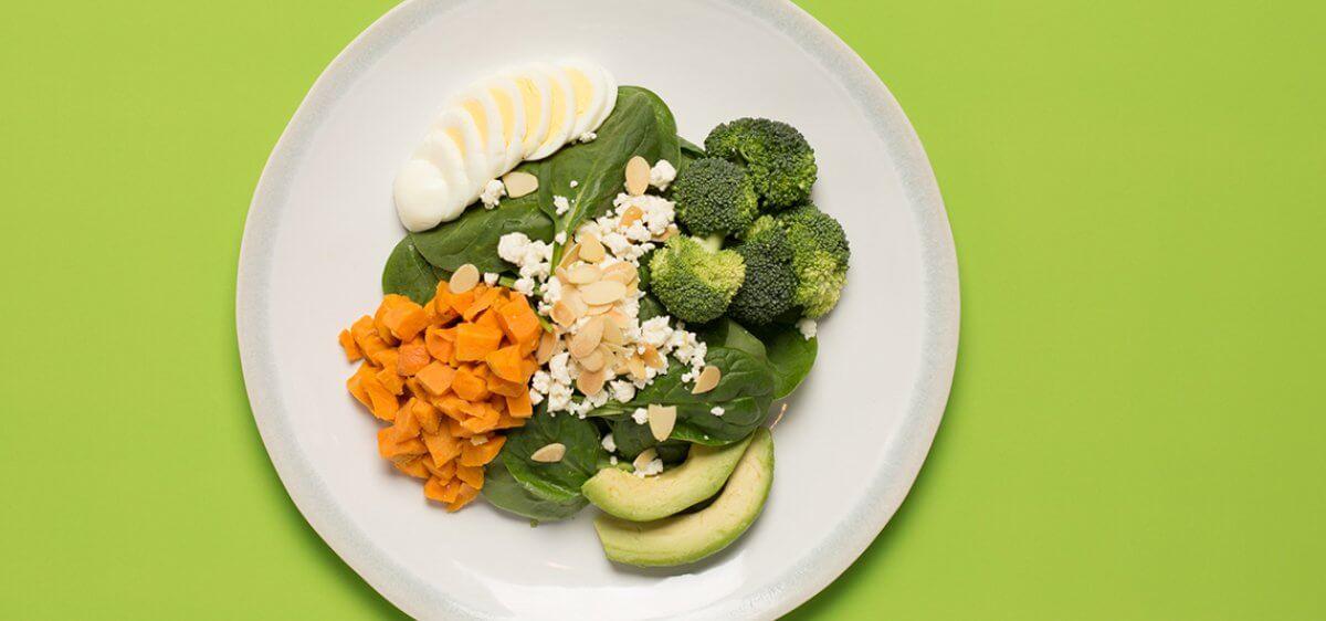 East Bank Club Food Shop Spinach Salad